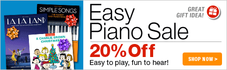Easy Piano Sale