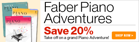 Faber Piano Adventures 20% Off Sale