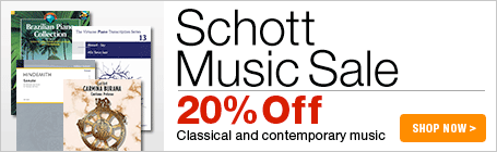 Schott Music Sale