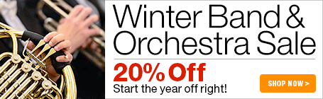Winter Band and Orchestra Sale